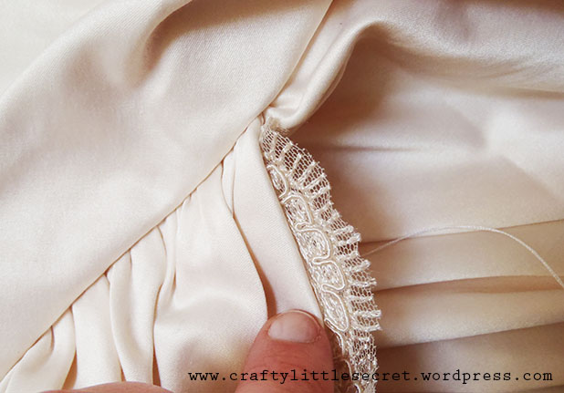 Wedding Dress DIY 3