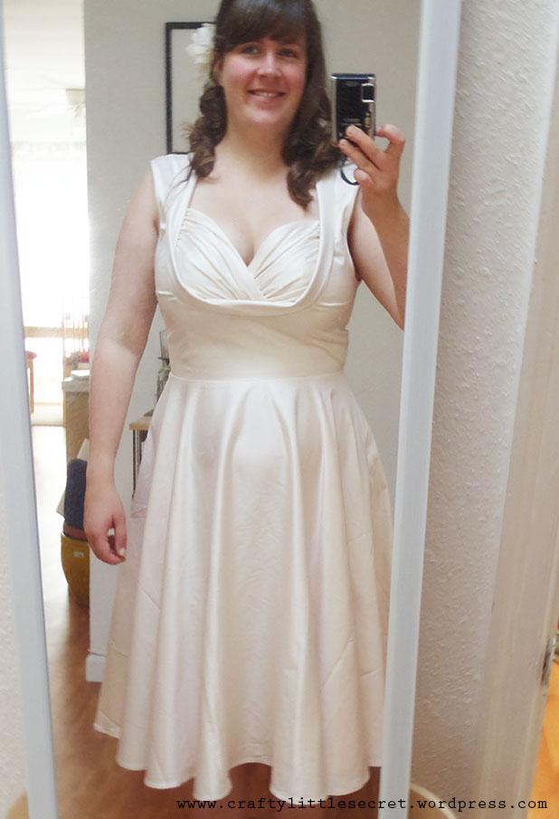 Wedding dress cleavage re re