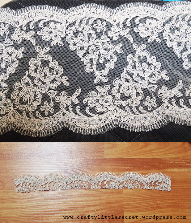 Wedding Dress DIY Lace