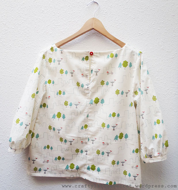 Mathilde blouse no buttons