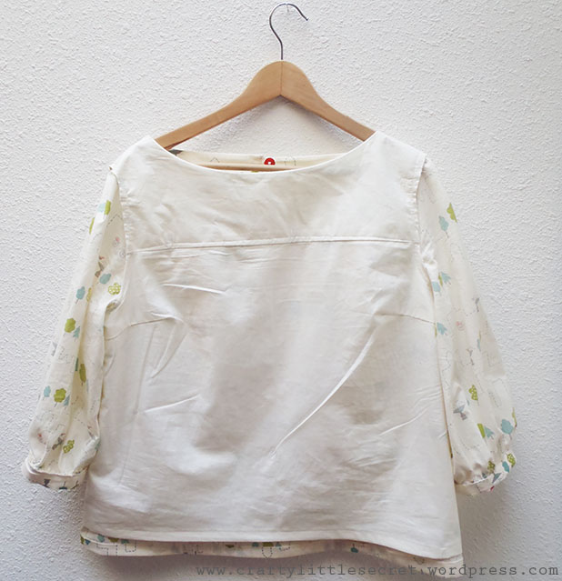 Mathilde blouse pattern hack