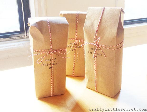 Rustic goody bags
