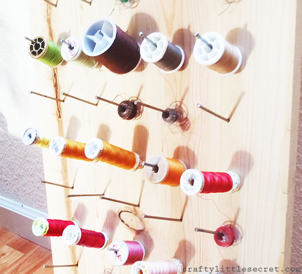 DIY Thread Holder