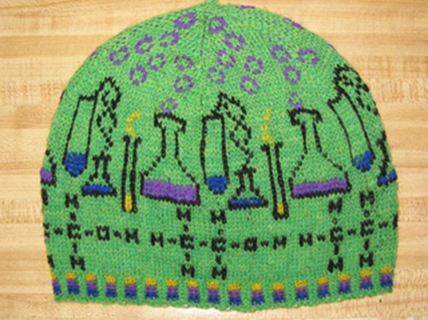 Knitting Pattern Toque Hat : 2nd Annual Holiday Roundup: Crafty Gift Ideas For the Science Nerd In Your Li...