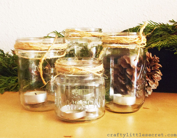 Tea Light Mason Jar
