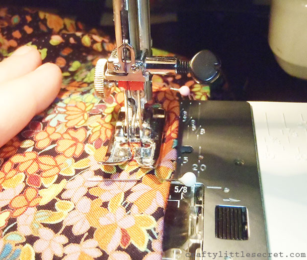 twin needle sewing