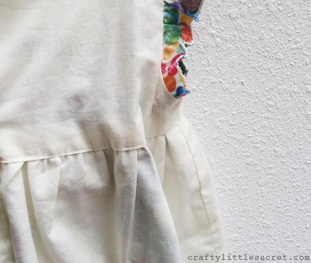 Geranium dress lining