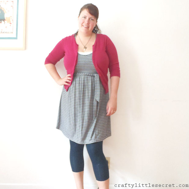 Crafty Little Secret - Butterick B5593 Nautical Striped Dress craftylittlesecret.com