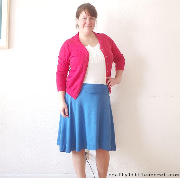 Crafty Little Secret - Blue Afternoon Skirt