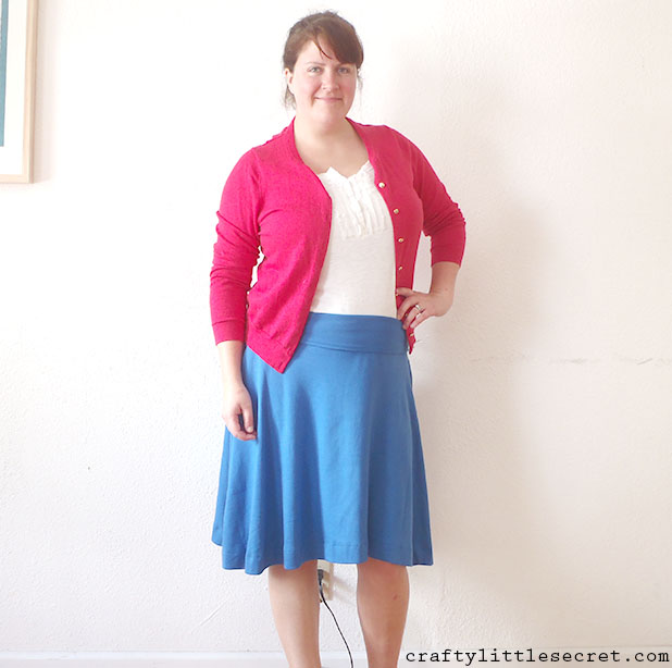 Crafty Little Secret - Blue Afternoon Skirt