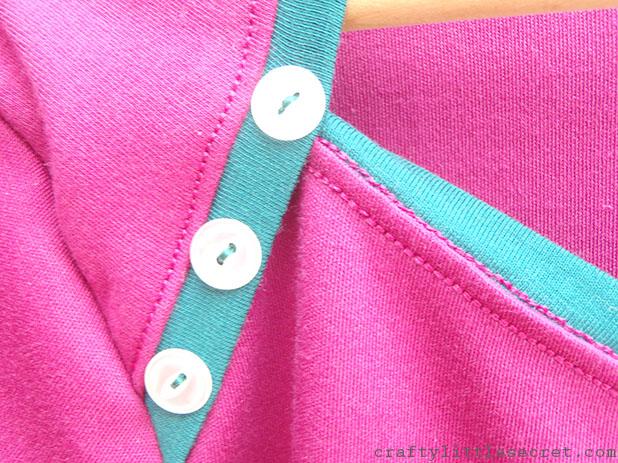 """Crafty Little Secret - """"Sangria"""" Bronte Top craftylittlesecret.com"""