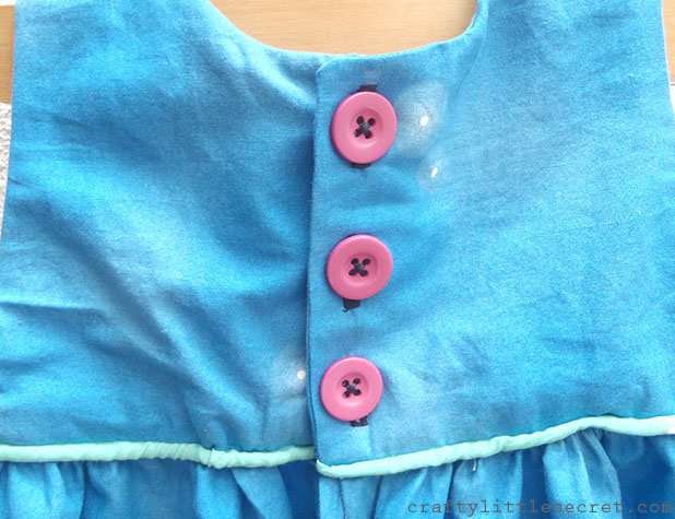 Crafty Little Secret - Summer Night Lights, Geranium Dress - craftylittlesecret.com