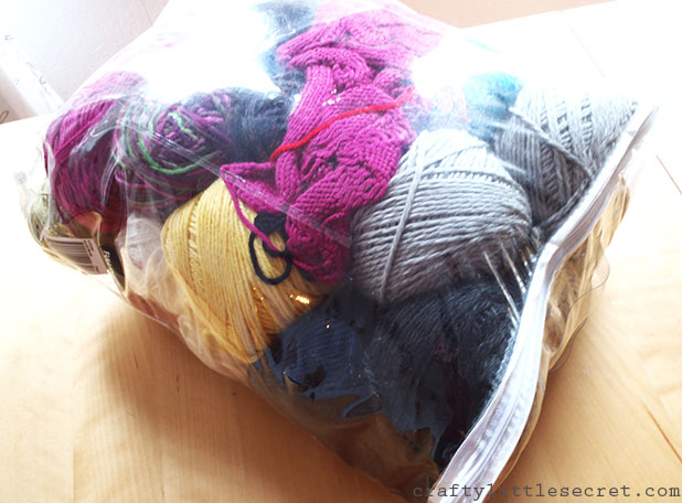 Crafty Little Secret - Winding Yarn at Home - www.craftylittlesecret.com